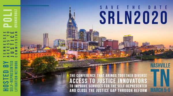 Save the Date SRLN2020