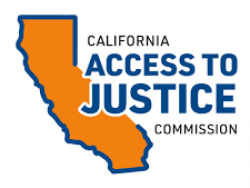 California Access to Justice Commission logo