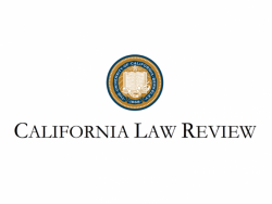 California Law Review Logo