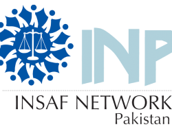 INSAF Network Pakistan Logo