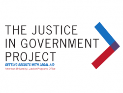 Justice in Government Project Logo