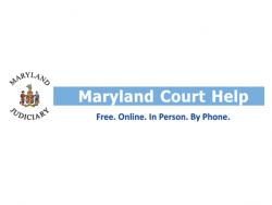 Maryland Judiciary MD Court Help Logo
