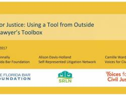 Resource: GIS for Justice Workshop with Tip Sheet for GIS Analysis (NLADA 2017)