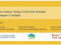 Presentation: GIS for Justice Workshop with Tip Sheet for GIS Analysis (NLADA 2017)