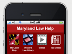 Maryland Centralizes District and Circuit Court Self-Help While Expanding Phone and Mobile Support (News 2016)