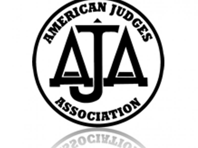 American Judges Association logo