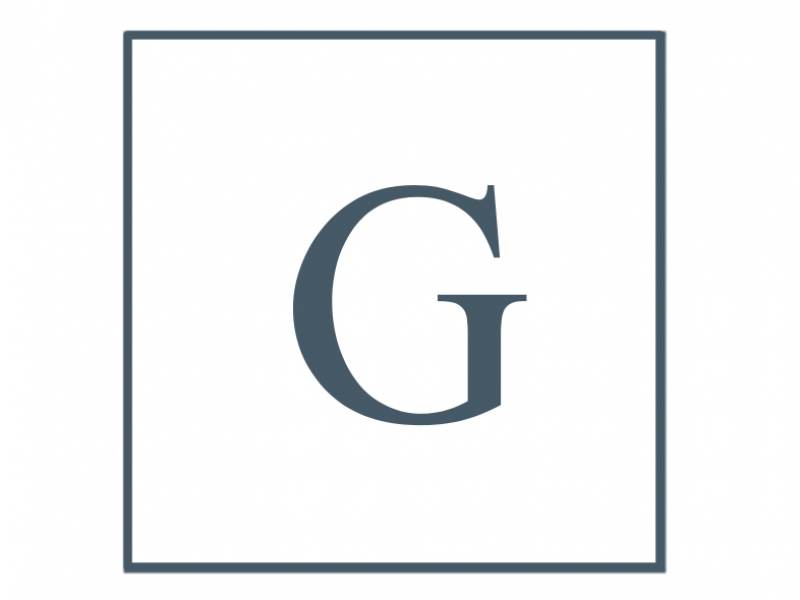 Letter G, Author's last name initial