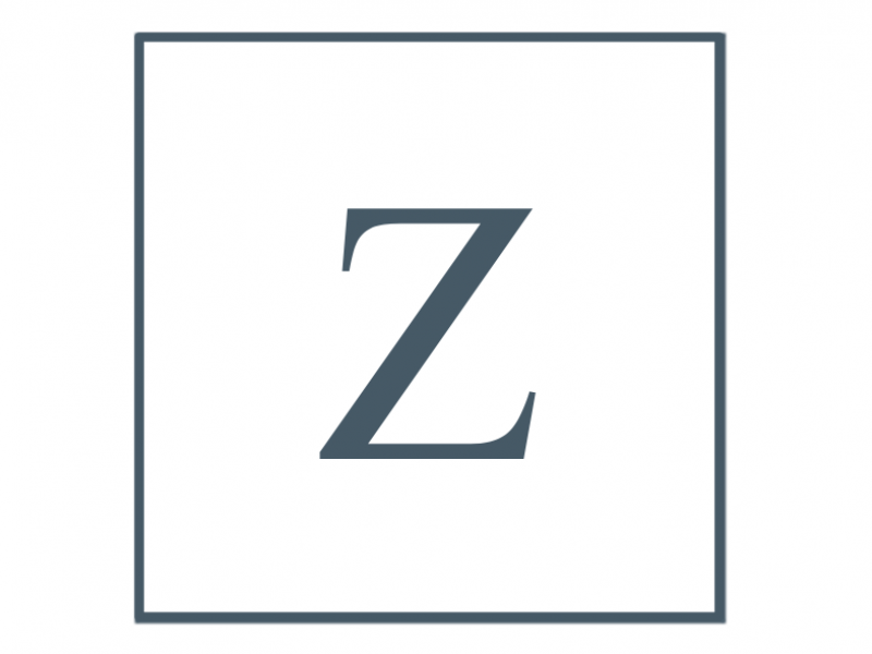 Letter Z, Author's last name initial