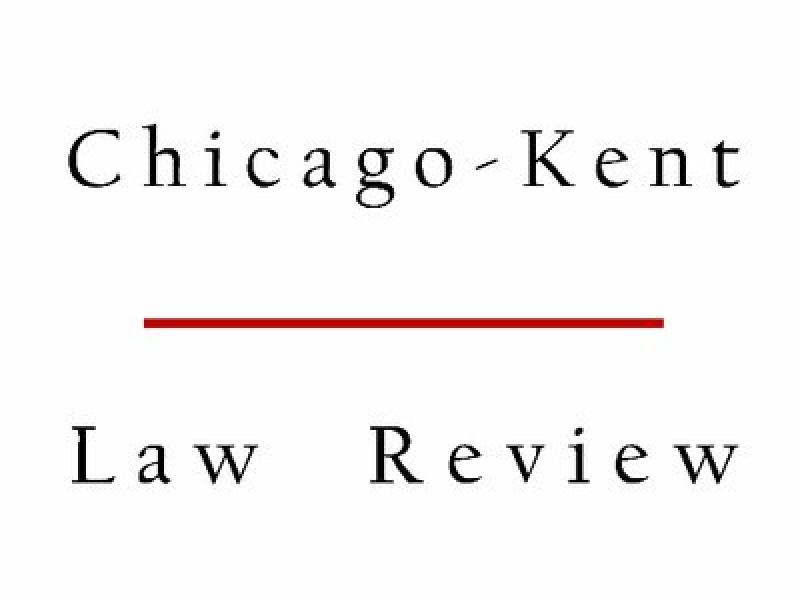 Chicago Kent Law Review Logo