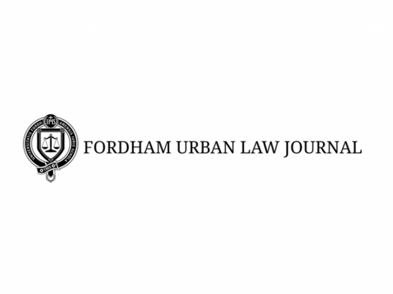 Fordham Urban Law Journal Logo