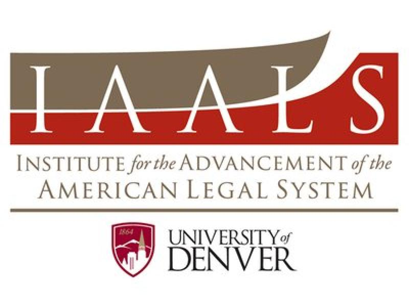 Institute for the Advancement of the American Legal System Logo