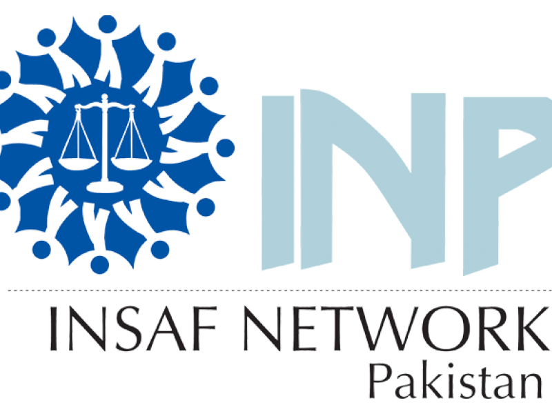 INSAF Network Pakistan Logo
