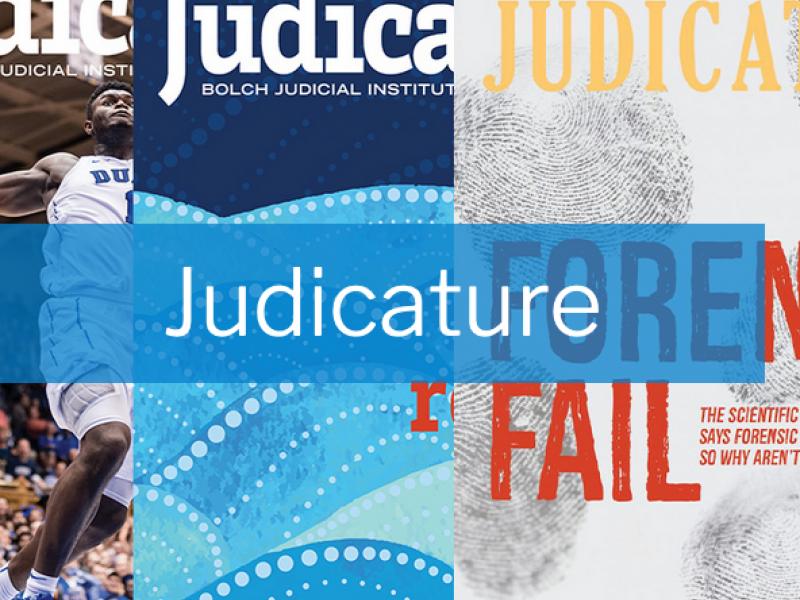 Judicature Logo