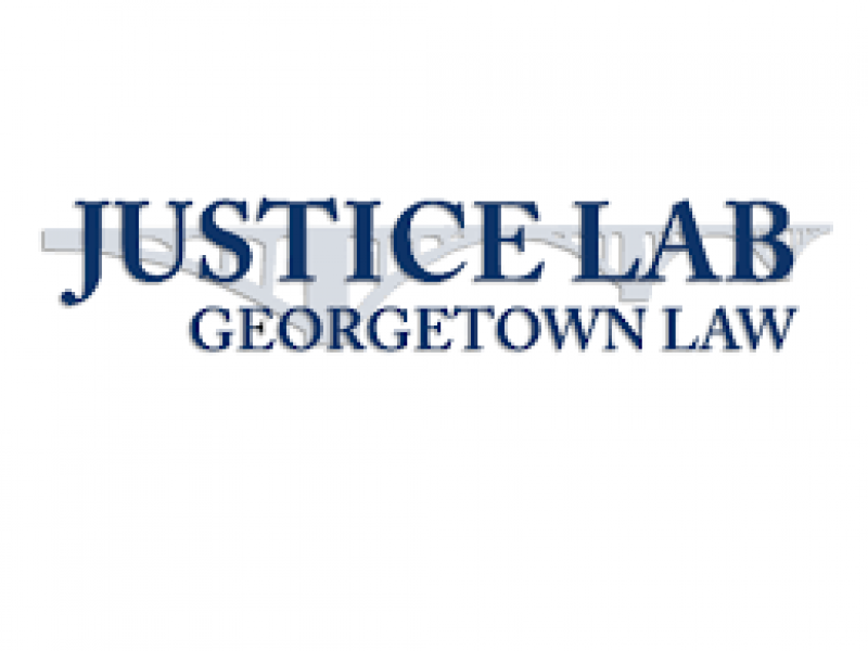 Justice Lab at Georgetown Law Logo