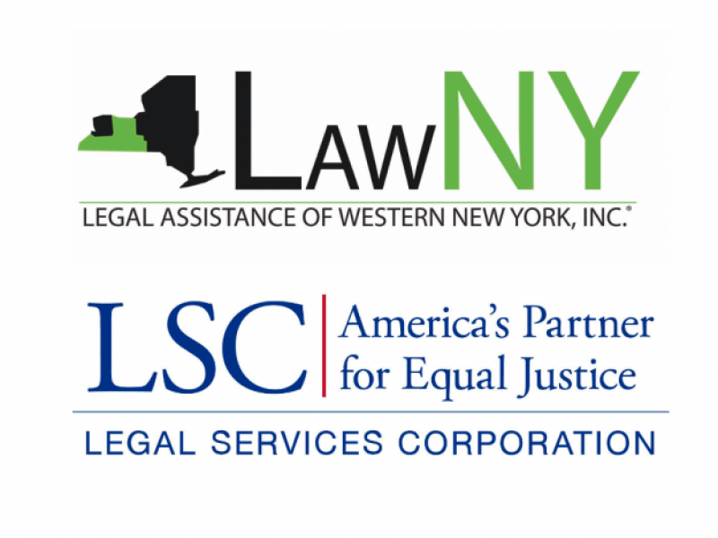LawNY and LSC logo